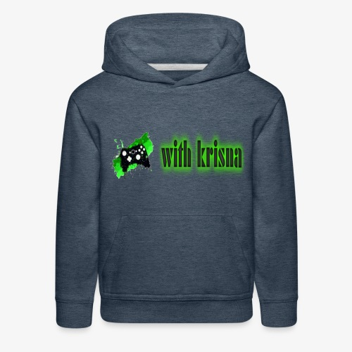gaming with krisna merch - Kids' Premium Hoodie