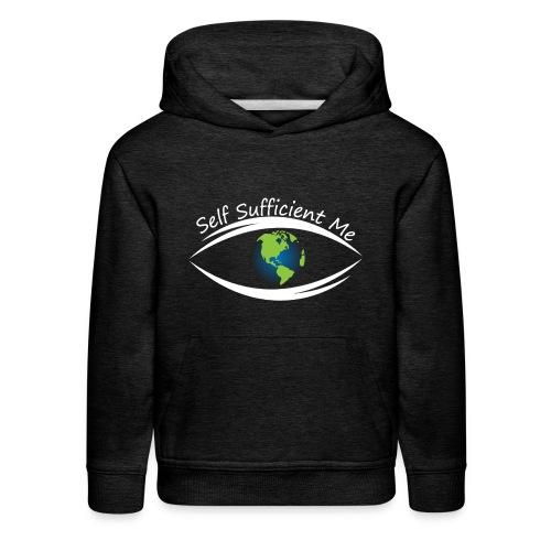 Self Sufficient Me Logo Large - Kids' Premium Hoodie