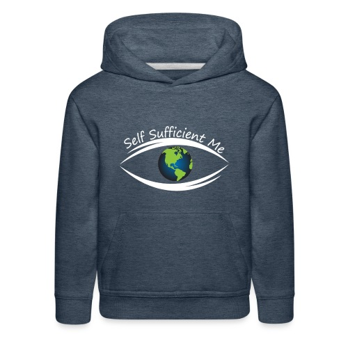 Self Sufficient Me Logo Large - Kids' Premium Hoodie