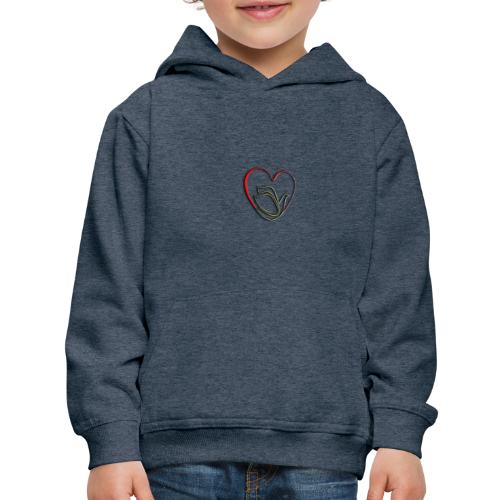 Love and Pureness of a Dove - Kids' Premium Hoodie