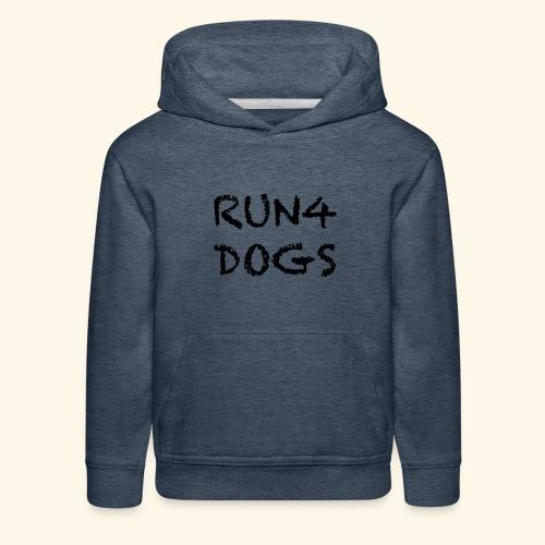RUN4DOGS NAME - Kids' Premium Hoodie