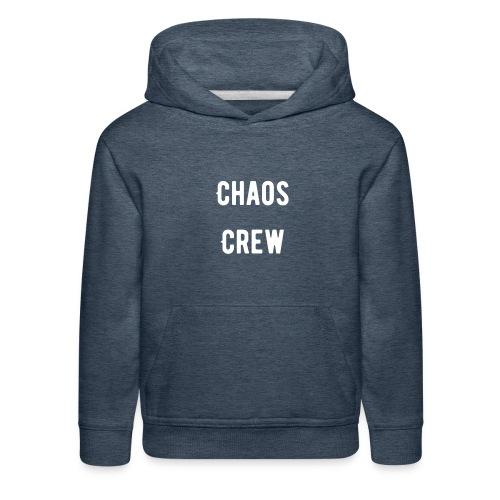 Chaos Crew White - Kids' Premium Hoodie