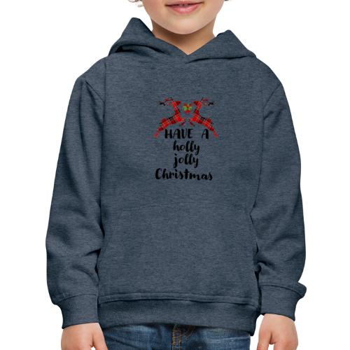 Holly Jolly Christmas - Kids' Premium Hoodie