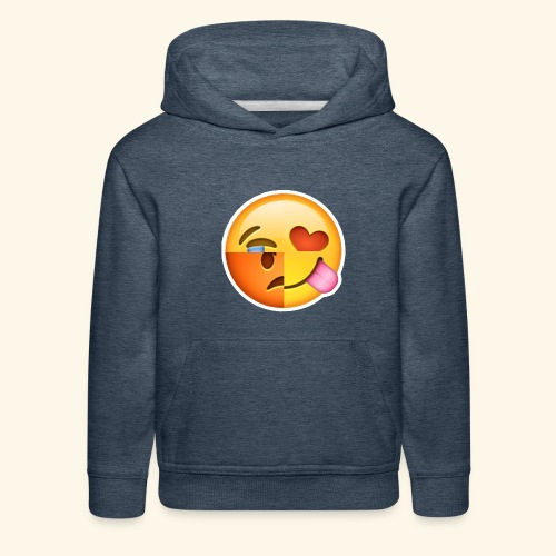 E Tees , Unique , Love , Cry, angry - Kids' Premium Hoodie