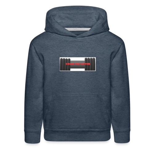 colin the lifter - Kids' Premium Hoodie