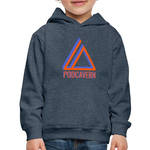 PodCavern Logo - Kids' Premium Hoodie