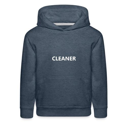 Cleaner - Kids' Premium Hoodie