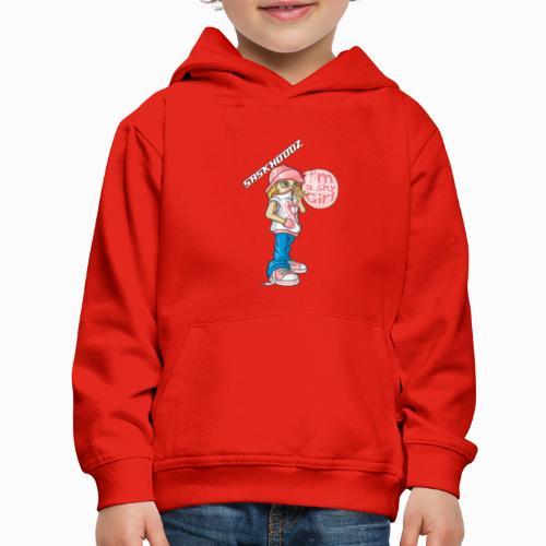 saskhoodz girl - Kids' Premium Hoodie