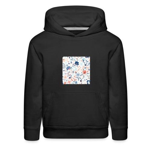 flowers - Kids' Premium Hoodie
