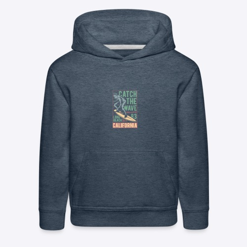 Catch The Wave - Kids' Premium Hoodie