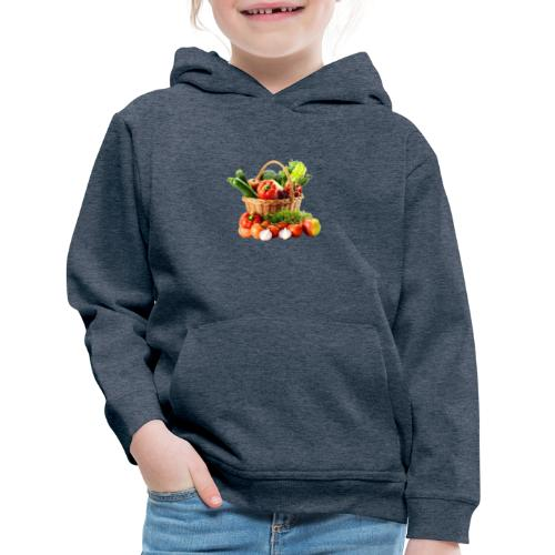 Vegetable transparent - Kids' Premium Hoodie