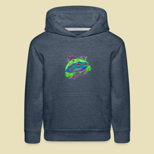 Ongher's UFO Flying Saucer - Kids' Premium Hoodie