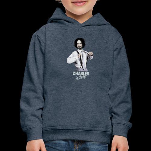 CHARLEY IN CHARGE - Kids' Premium Hoodie