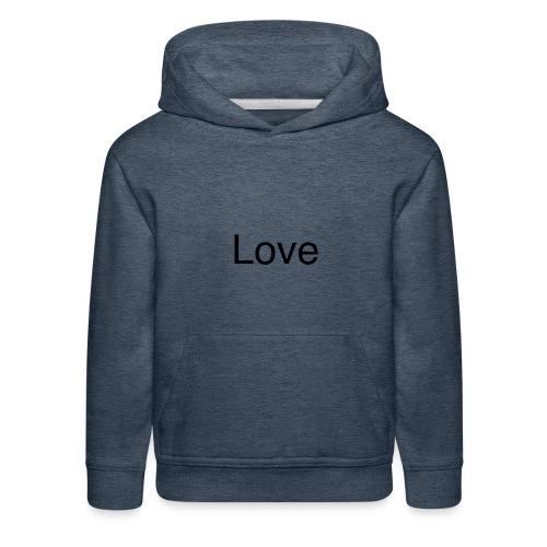 Love - Kids' Premium Hoodie
