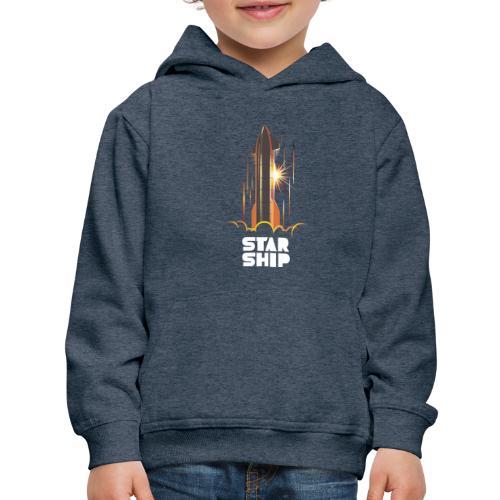Star Ship Mars - Dark - Kids' Premium Hoodie