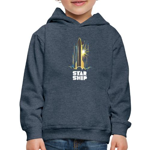 Star Ship Earth - Dark - Kids' Premium Hoodie