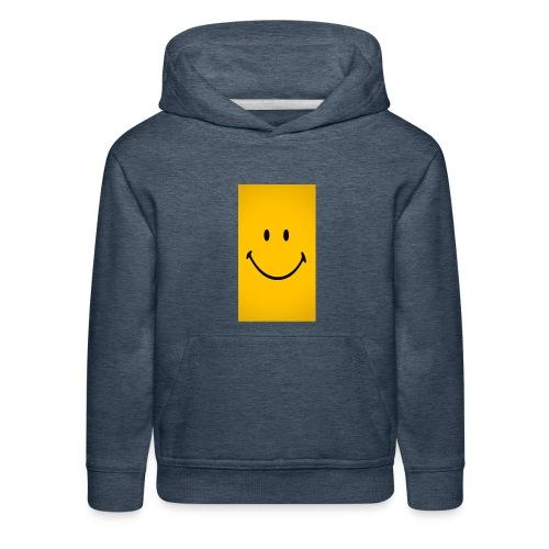 Smiley face - Kids' Premium Hoodie