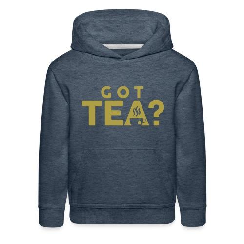 Got Tea GOLD - Kids' Premium Hoodie