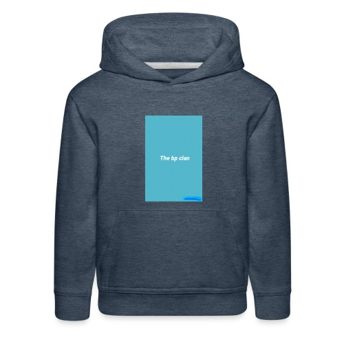 bp blue - Kids' Premium Hoodie