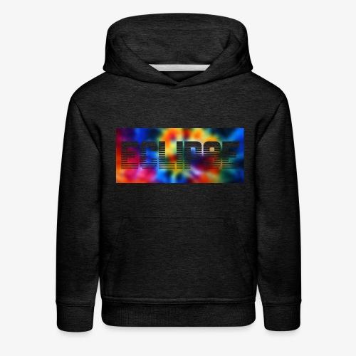Tie Dye Retro Logo - Kids' Premium Hoodie