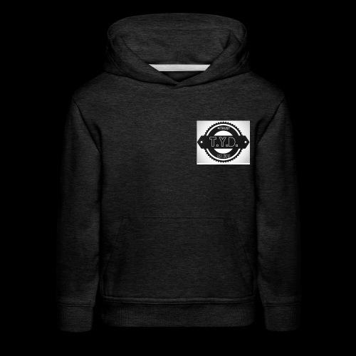 tyd official logo - Kids' Premium Hoodie