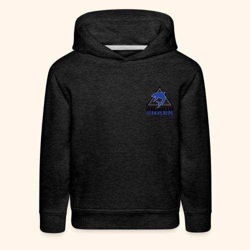 Gilskin hark-Kids Hoodie-Logo In the Corner - Kids' Premium Hoodie