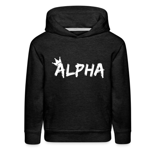 Alpha - Kids' Premium Hoodie