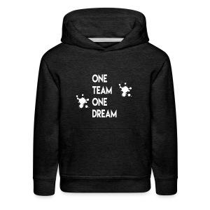 One team One dream - Kids' Premium Hoodie