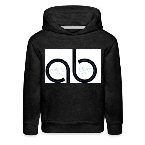 Ab signature merch - Kids' Premium Hoodie