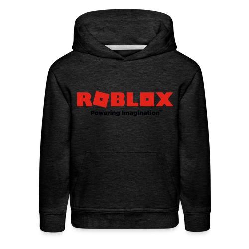 2017 ROBLOX logo - Kids' Premium Hoodie