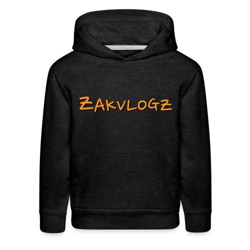ZakVlogz - Kids' Premium Hoodie