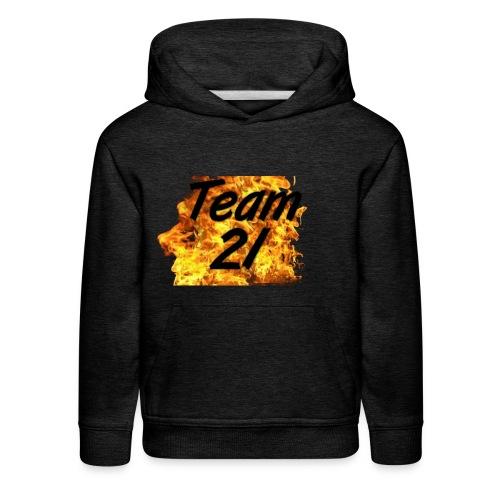 Team22Fire - Kids' Premium Hoodie