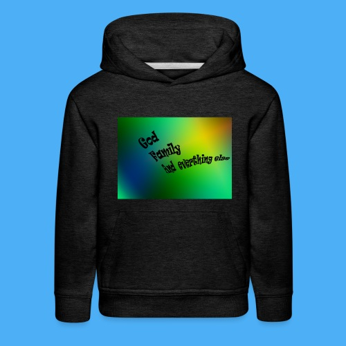 God Family And Everything Else - Kids' Premium Hoodie