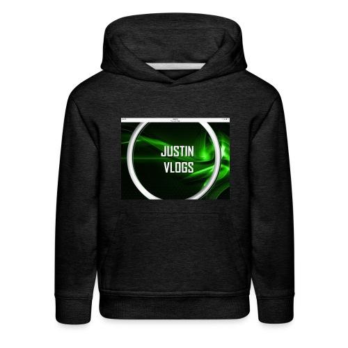 Wave green merchandise - Kids' Premium Hoodie