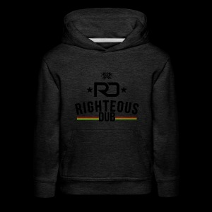 Righteous Dub Logo - Kids' Premium Hoodie