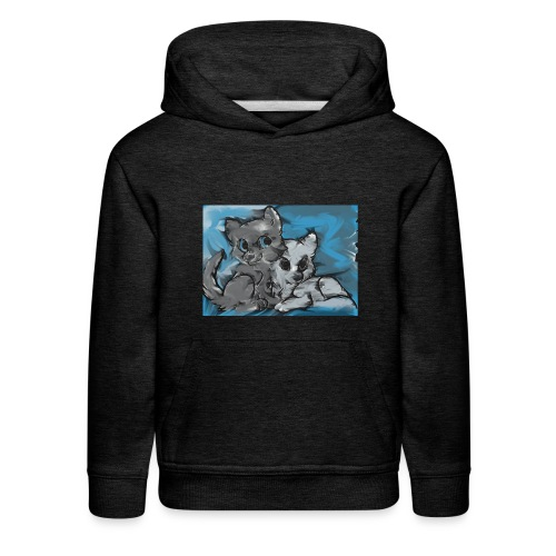 Wolf Family - Kids' Premium Hoodie