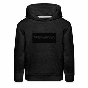 TheDiamondPug Rectangle - Kids' Premium Hoodie