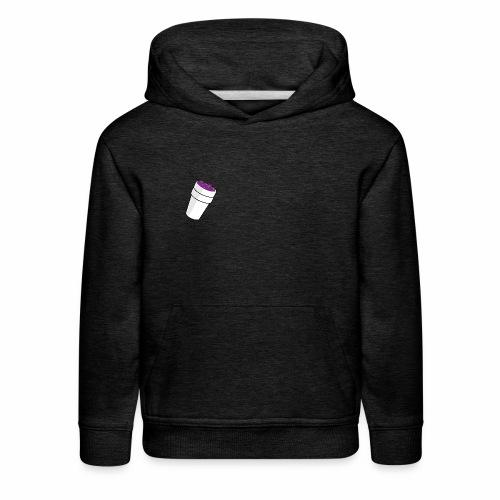 purple drink - Kids' Premium Hoodie