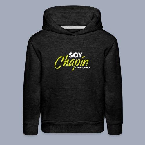 Soy Chapín Americano - green - Kids' Premium Hoodie