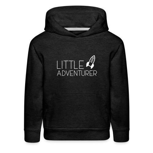 Little Adventurer Rocket t-shirt - Kids' Premium Hoodie