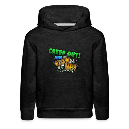 RealCreepman's Merchandise - Kids' Premium Hoodie