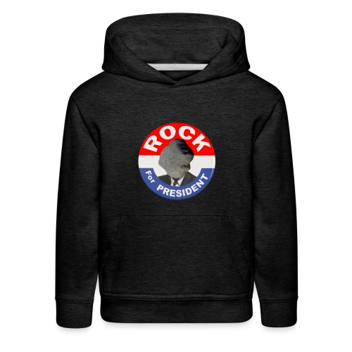 ROCK FOR PRESIDENT - Kids' Premium Hoodie