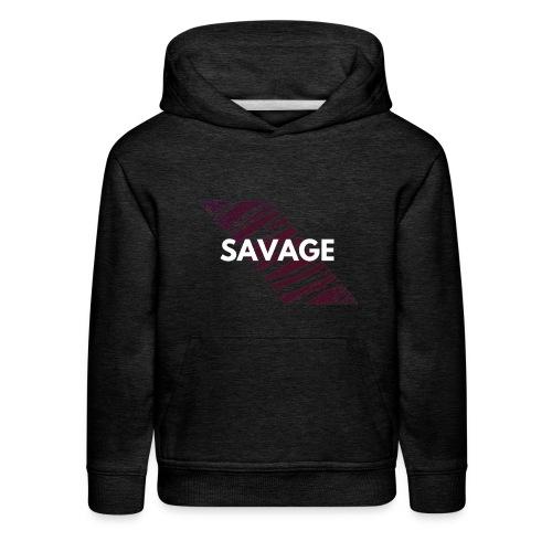 SAVAGE - Kids' Premium Hoodie