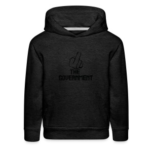 Fuck The Government - Kids' Premium Hoodie