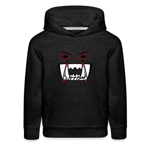 Littism Vampire Glory Face - Kids' Premium Hoodie