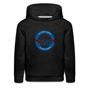 CHICAGO CHEER.com - Kids' Premium Hoodie