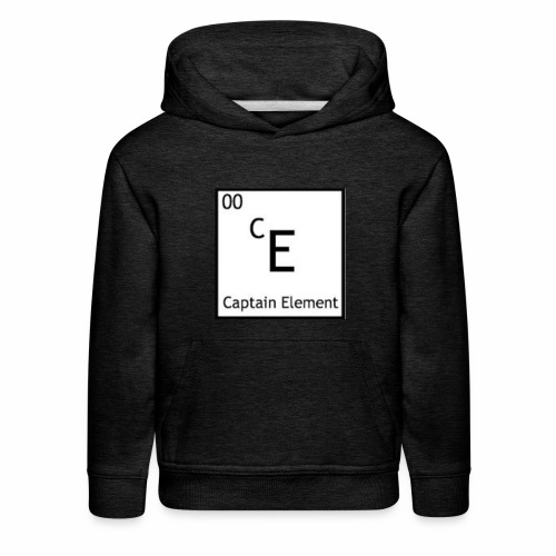 Captain Element Logo - Kids' Premium Hoodie