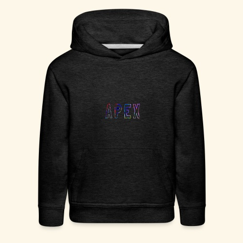 APEX RAINBOW DESIGN - Kids' Premium Hoodie