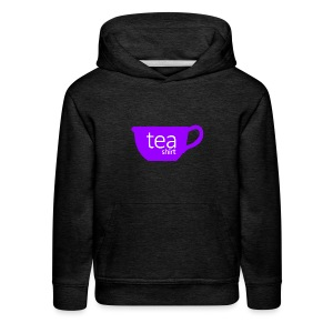 Tea Shirt Simple But Purple - Kids' Premium Hoodie