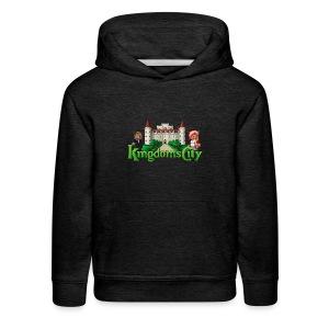 KingdomsCity Logo - Kids' Premium Hoodie